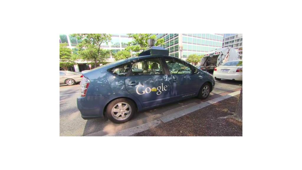 Google's self-driving car tackles D.C. traffic