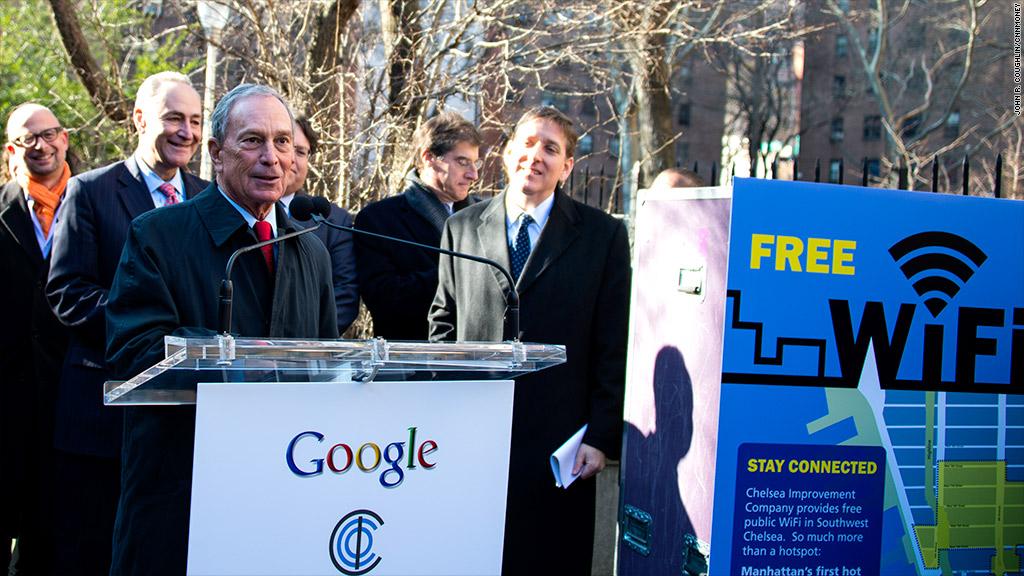 google wifi bloomberg nyc