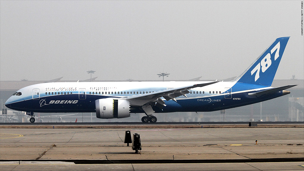 Boeing Shares Sink Following Problems With New 787 Dreamliner