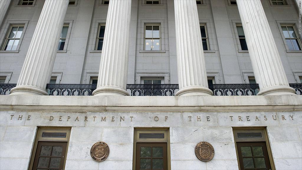 us department treasury