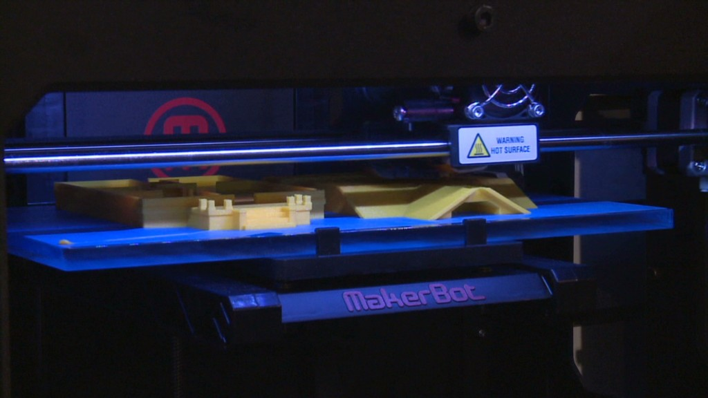 MakerBot CEO wants easier 3-D printing