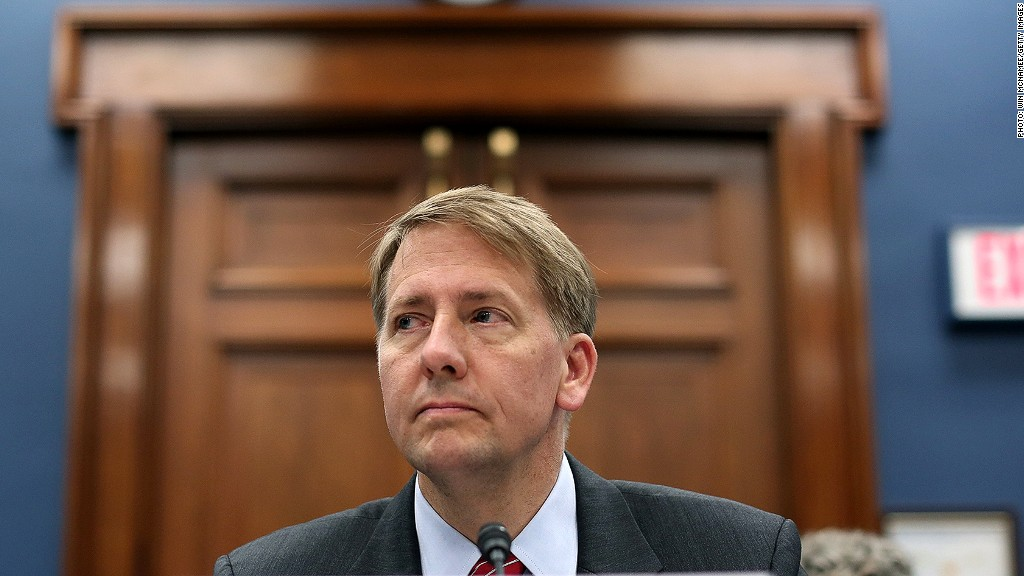 richard cordray mortgage rules