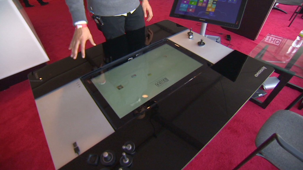 27-inch tablet could be a coffee table