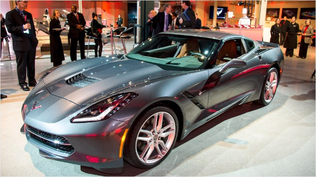 New Corvette Stingray >> All New Corvette Stingray Unveiled