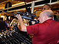 A month after Newtown: Massive gun show