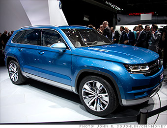 Volkswagen Cross Blue concept - Cool cars from the Detroit Auto Show ...