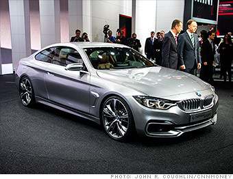 BMW 4-Series Coupe concept - Concept cars from Detroit Auto Show ...