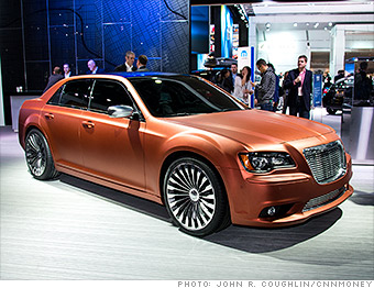 Gallery 2017 Naias Chrysler 300s Turbine Edition Concept