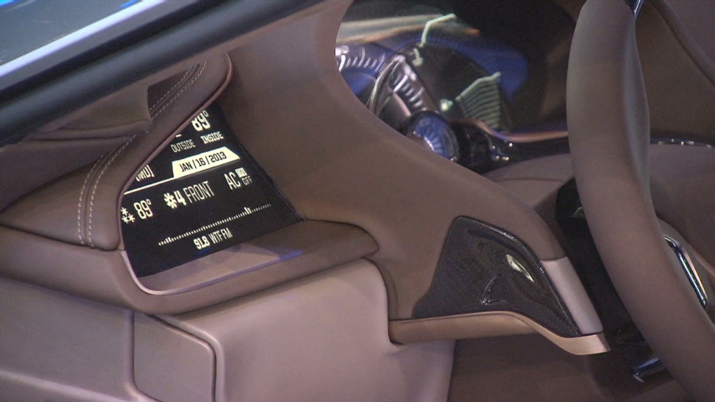 Eye-control 'magic' in Hyundai concept car