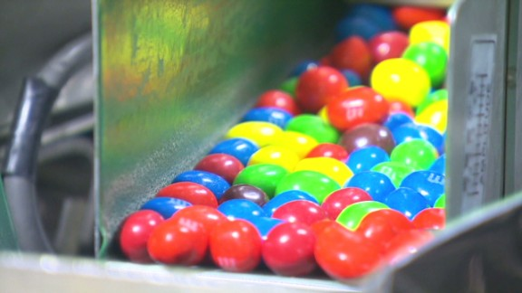 M&Ms candy maker says: Don't eat too many