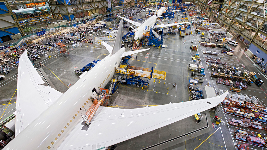 boeing 787 dreamliner supply chain