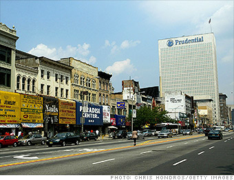 newark new jersey highest crime