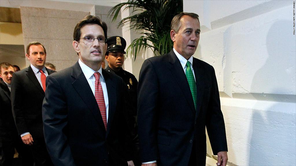 boehner cantor debt ceiling