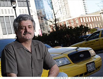 Taxi driver - License regulations are killing my business