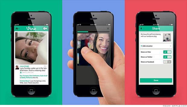 Vine video sharing App