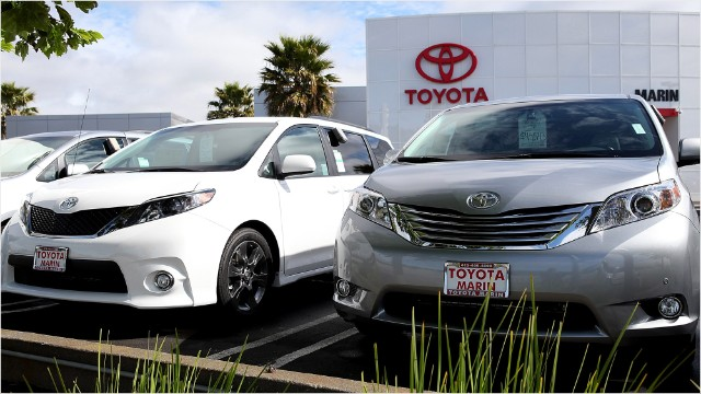 Toyota Reclaims Global Auto Sales Crown