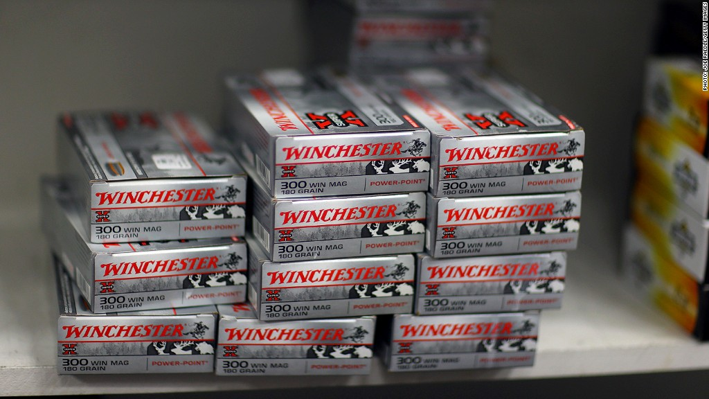 Wal Mart Limits Ammunition Sales