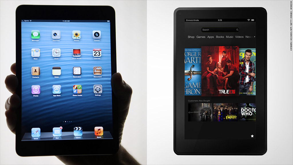 tablets ipad kindle