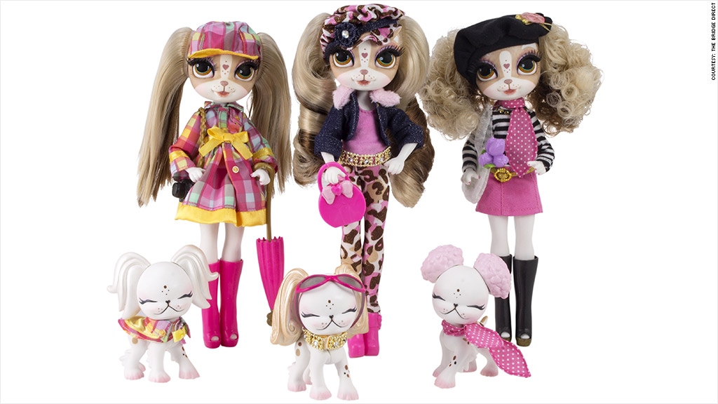 Puppy Dress Up Doll Fashion