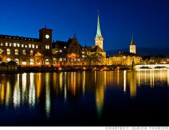 most expensive cities zurich switzerland