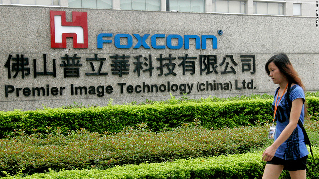 foxconn union workers