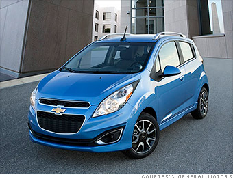 Cheapest Car On Gas >> Chevrolet Spark - 10 cheapest new cars in America - CNNMoney