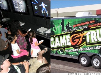 hot franchise game truck