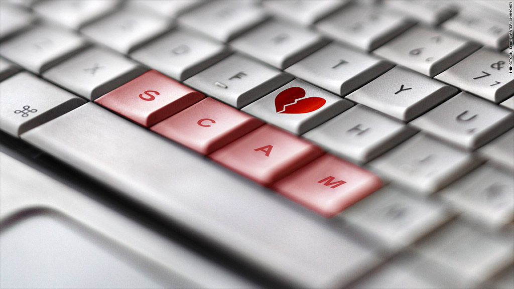 How do online dating scams work
