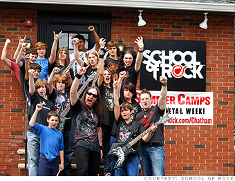 hot franchise school of rock