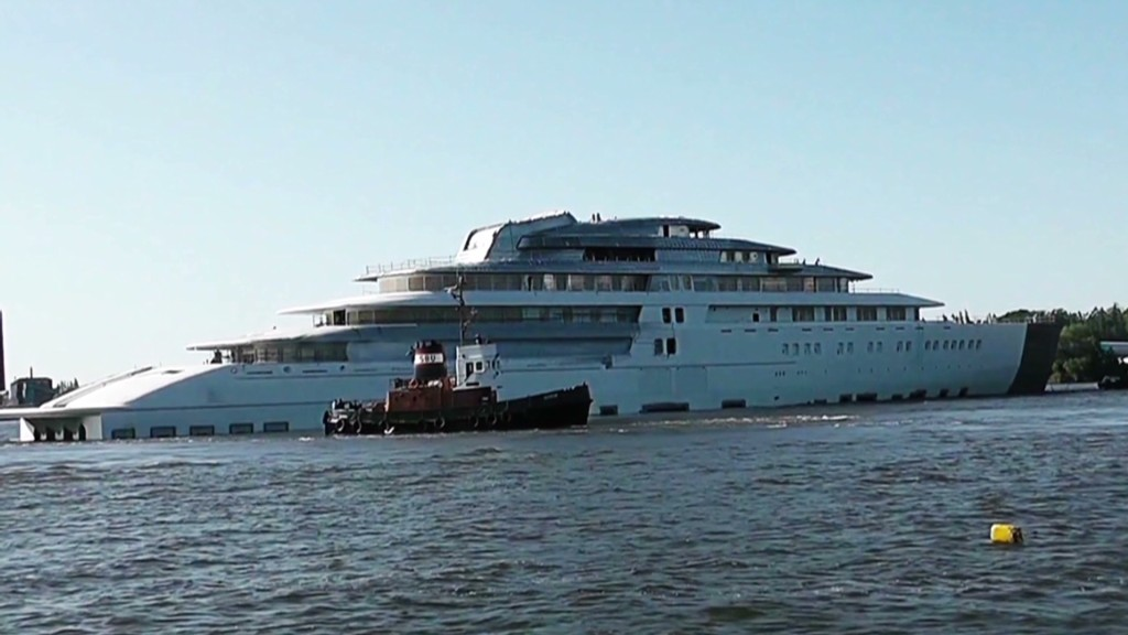 First look at the world's largest yacht