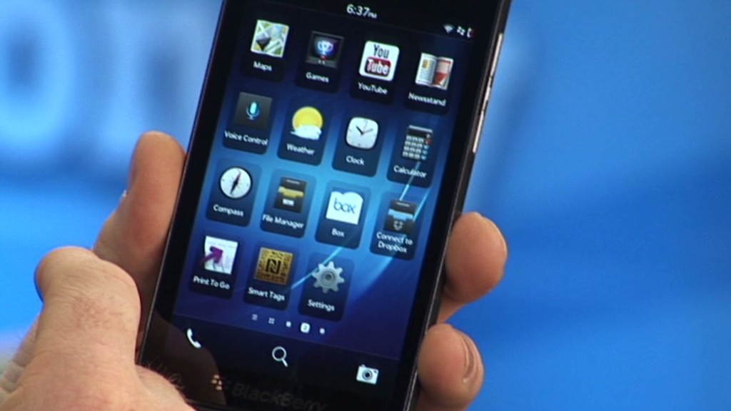 What it costs to make BlackBerry's Z10