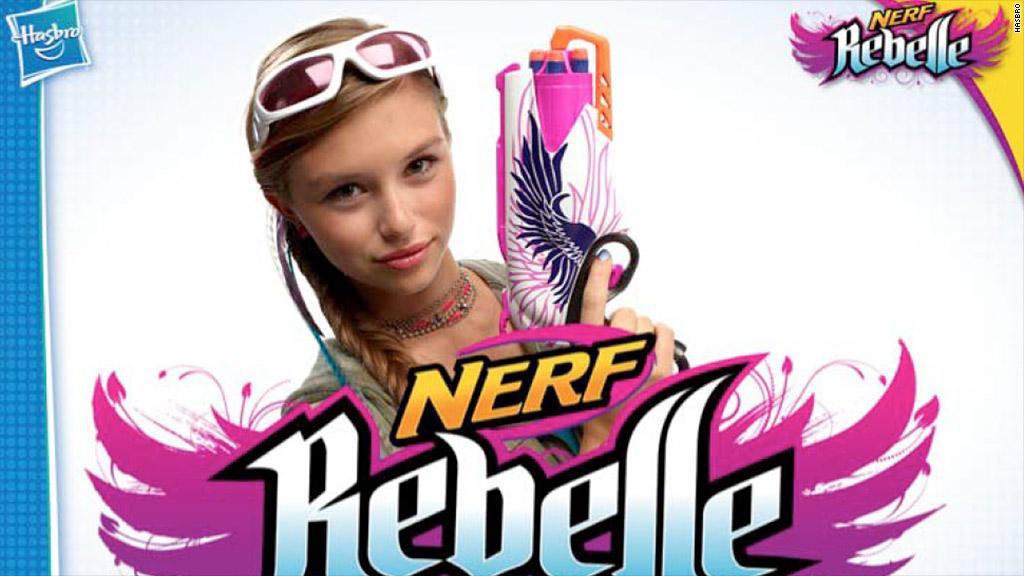 hasbro nerf rebelle