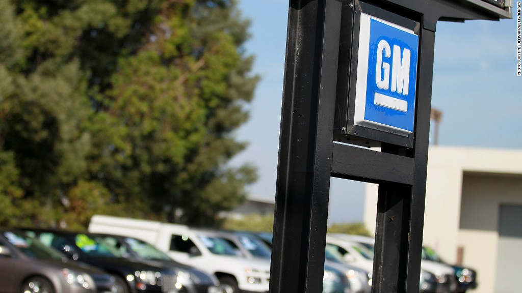 general motors earnings