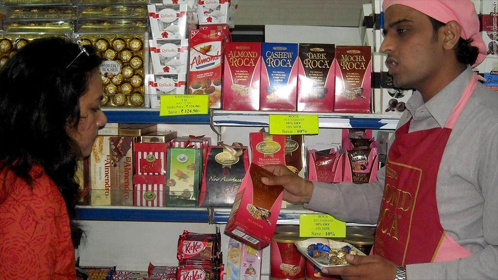 brown & haley chocolates india
