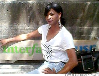 transgender finance keisha allen