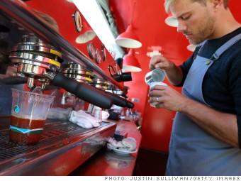low pay jobs barista
