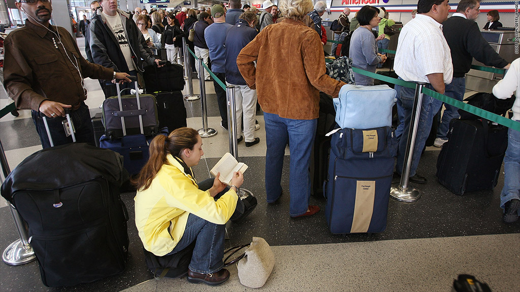 airport wait times