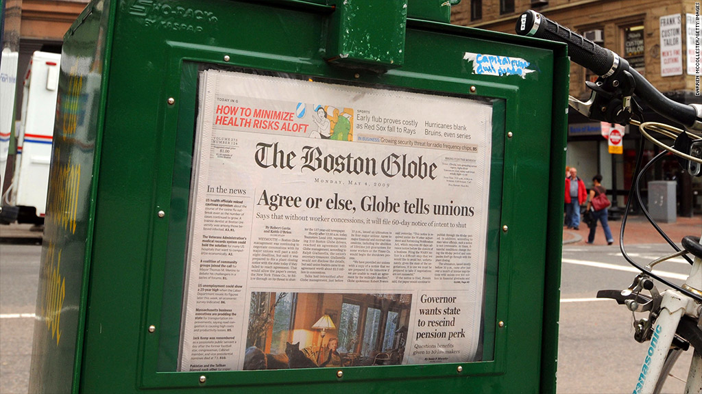 boston globe new york times