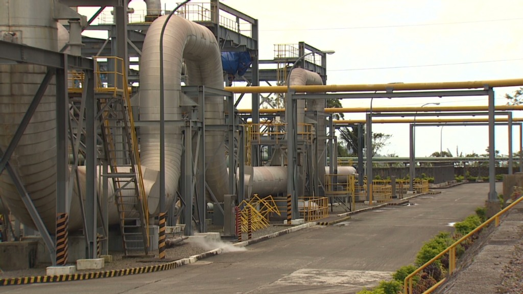 Philippines tap energy from Earth's core