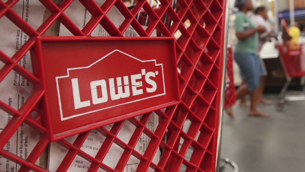 Housing rebound powers Lowe's stock