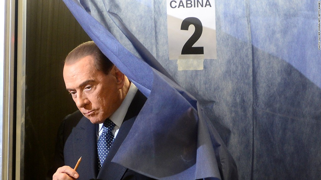 berlusconi italy elections
