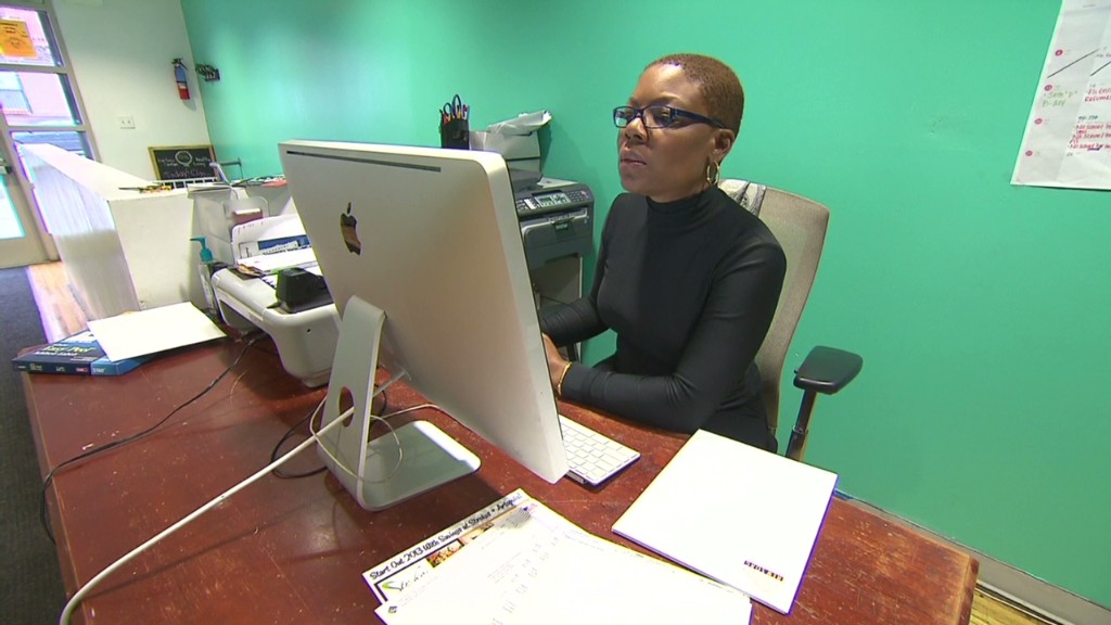 One woman with 6 jobs to make ends meet