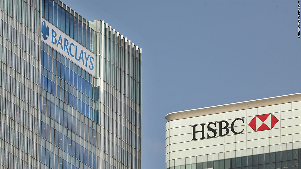 london banks barclays hsbc