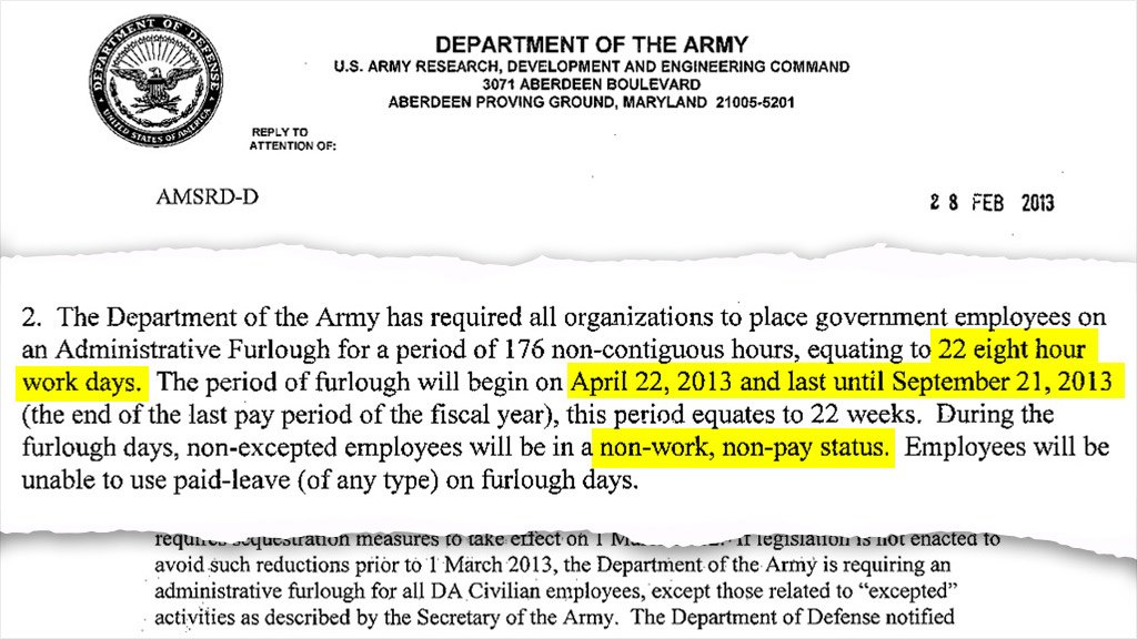 army furlough notice 3