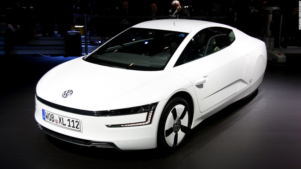 vw unveils 39 world 39 s most efficient car 39. Black Bedroom Furniture Sets. Home Design Ideas
