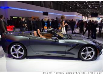 corvette stingray convertible geneva auto show
