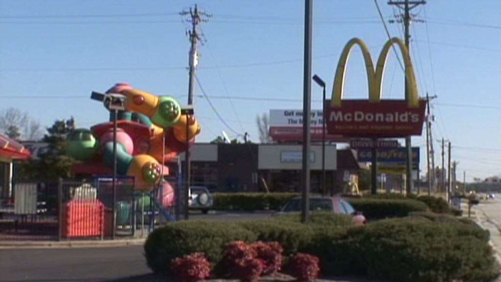 It's a McMarket: Mickey D's up on bad news