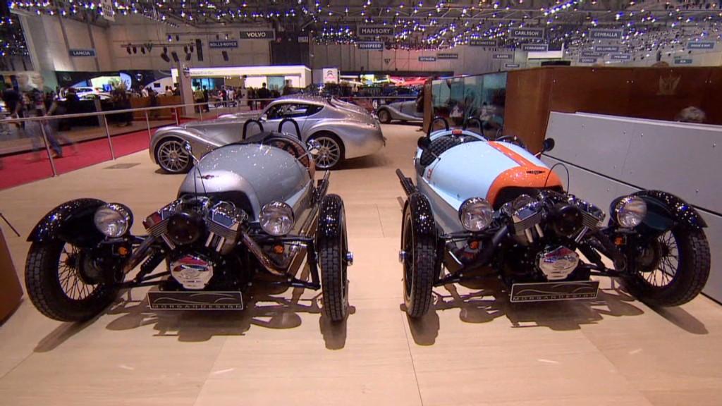 Morgan Motors' wild 3-wheel car