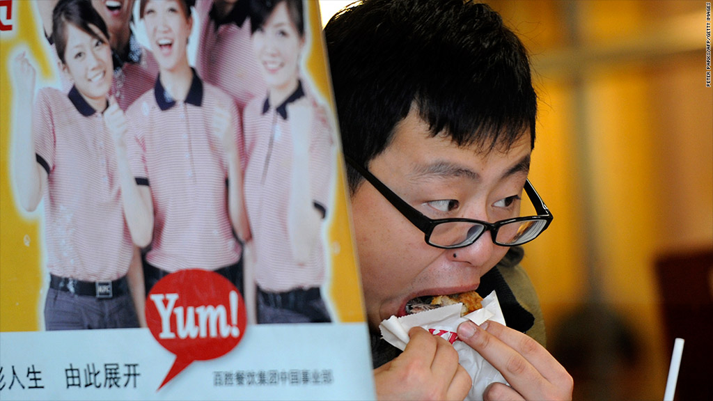 yum brands china