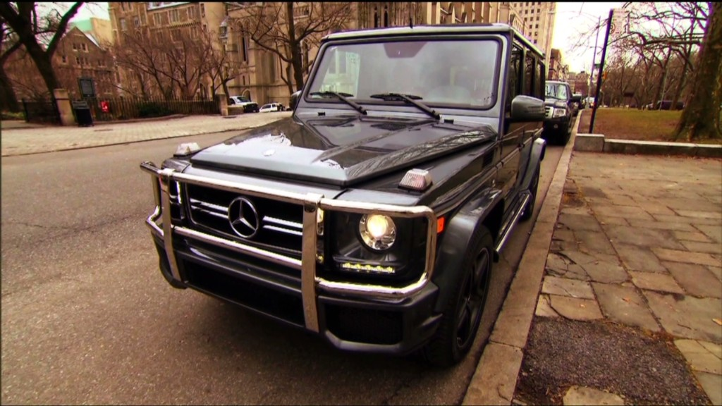Mercedes G63, monster SUV